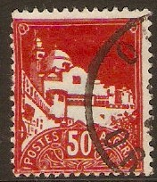 Algeria 1942 50c Red - Algiers View Series. SG179.