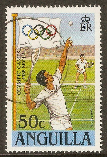 Anguilla 1988 50c Olympic Games series. SG799.