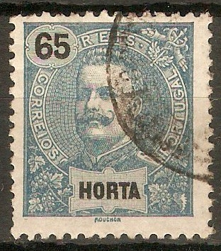 Horta 1898 65r Steel-blue. SG45.