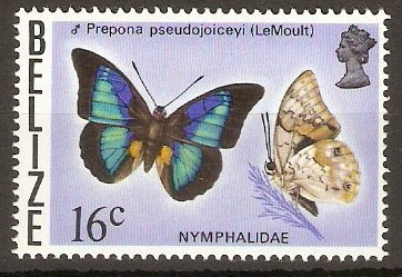 Belize 1974 16c Butterflies series. SG386.