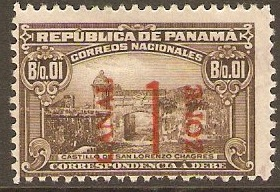 Canal Zone 1915 1c on 1c Brown. SGD62.