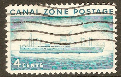 "Canal Zone 1958 4c ""Ancon II"" Liner. SG214."