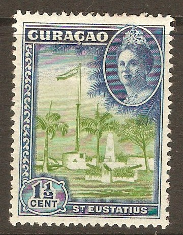 Curacao 1942 1½c Views of Curacao series. SG196.