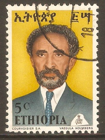 Ethiopia 1973 5c Haile Selassie definitive series. SG864.