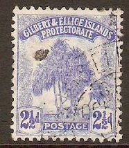 Gilbert and Ellice Islands 1911 2½d Blue. SG11.