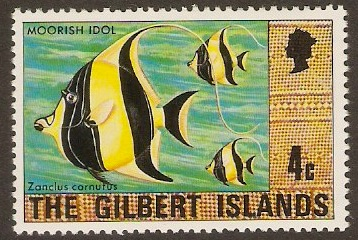 Gilbert Islands 1976 4c Cultural Series. SG25