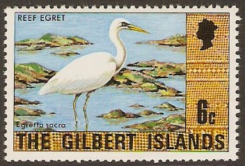 Gilbert Islands 1976 6c Cultural Series. SG27