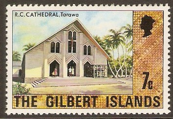 Gilbert Islands 1976 7c Cultural Series. SG28
