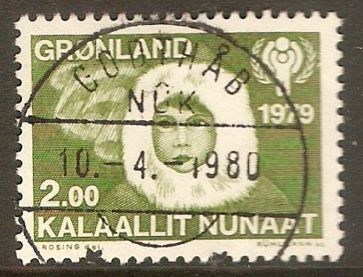 Greenland 1979 2k Year of the Child stamp. SG112.