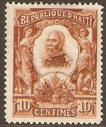 Haiti 1904 10c External mail series. SG112.