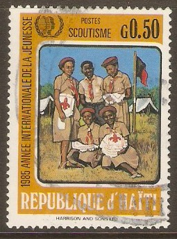 Haiti 1986 50c Int. Youth Year series. SG1554.