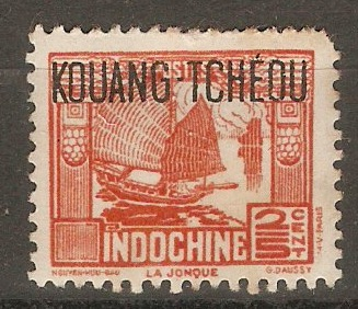 Indo-China 1904 1c Olive-green. SG30.