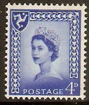 Isle of Man 1968 4d Queen Elizabeth II Definitives series. SG4.