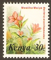 Kenya 1983 30c Flowers Series. SG259.
