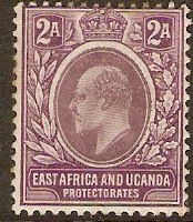 East Africa and Uganda 1903 2a Dull and bright purp. SG3.
