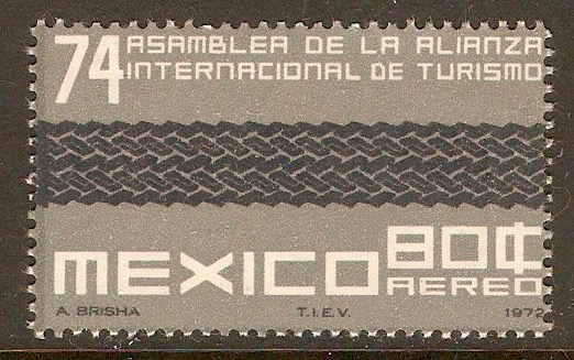 Mexico 1972 80c Tourist Alliance Assembly. SG1250.