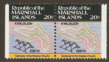 Marshall Islands 1984 20c Maps Series. SG11.