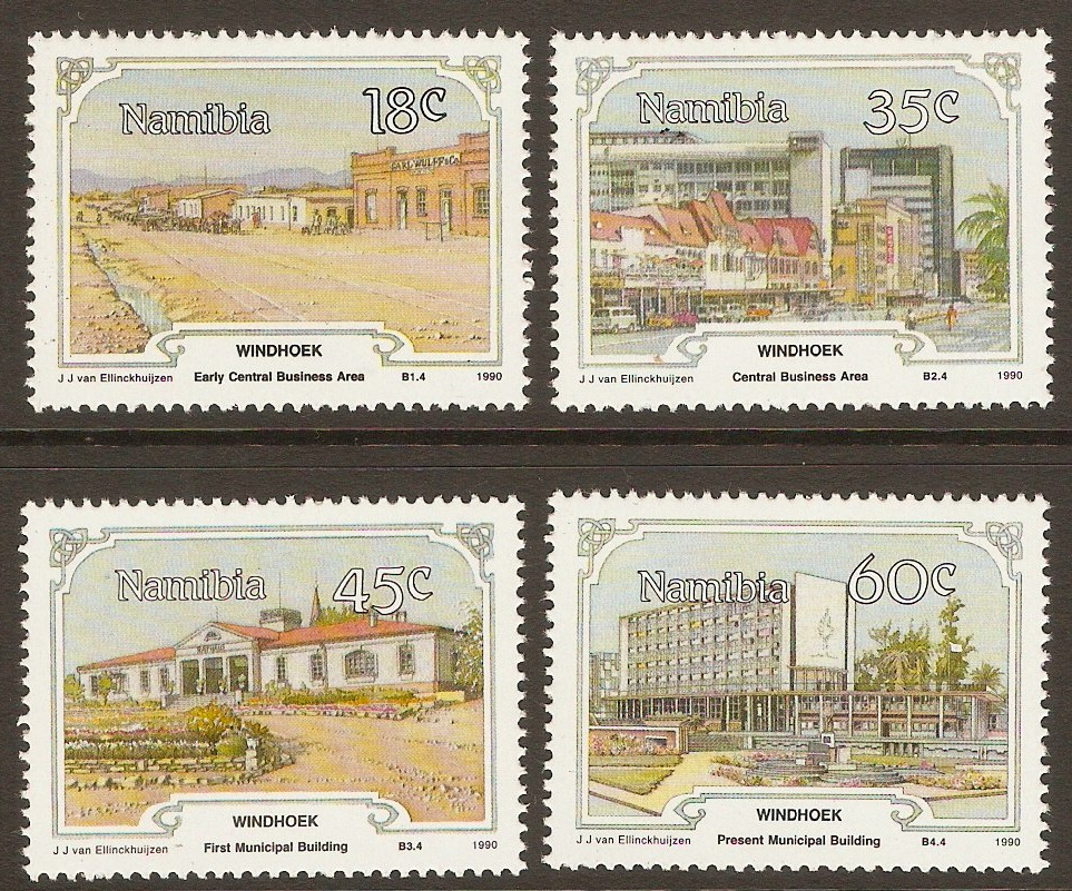 Namibia 1990 Windhoek Centenary set. SG545-SG548.