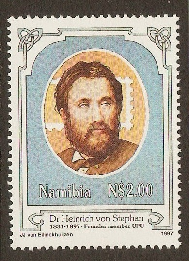 Namibia 1997 UPU Founder Commemoration stamp. SG709.