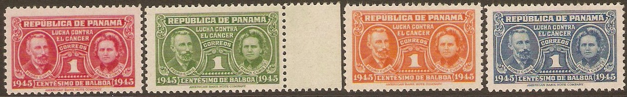 Panama 1939 Tax Stamps Set. SG353-356.