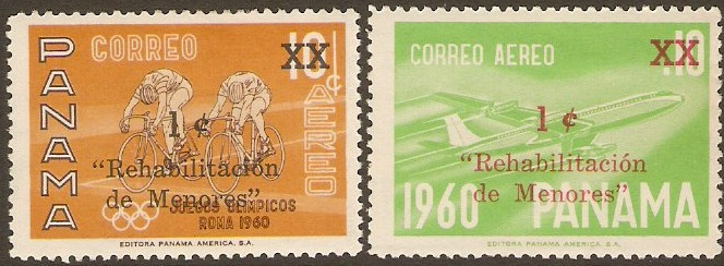 Panama 1961 Tax Stamps. SG709-SG710.