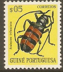 Portuguese Guinea 1953 5c Bugs and Beetles Series. SG326.