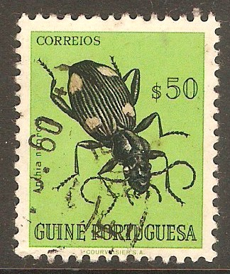 Portuguese Guinea 1953 50c Bugs and Beetles Series. SG329.