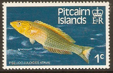 Pitcairn Islands 1984 1c Fishes Series. SG246.