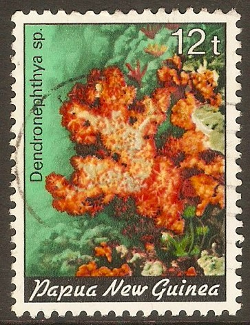 Papua New Guinea 1982 12t Coral series. SG442.