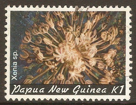 Papua New Guinea 1982 1k Coral series. SG450.