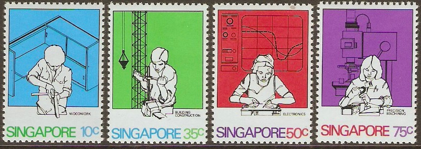 Singapore 1981 Training Set. SG400-SG403.