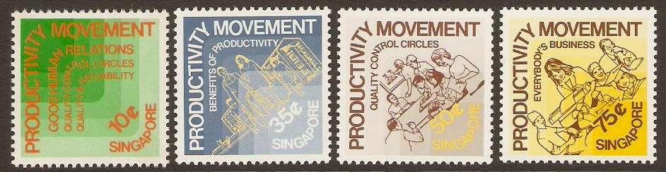 Singapore 1983 Productivity Set. SG439-SG442.