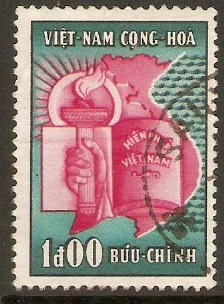 South Vietnam 1957 1p National Assembly Series. SGS50.