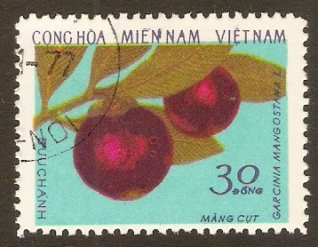 National Front 1976 30d Fruits series. SGNLF72.