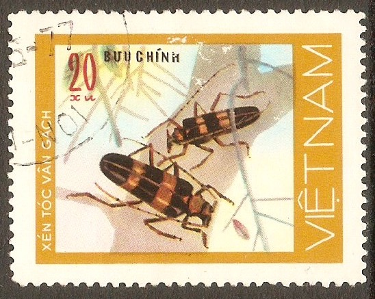 Vietnam 1977 20x Beetles series. SG149.