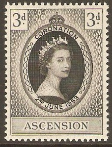 Ascension 1953 Coronation Stamp. SG56.