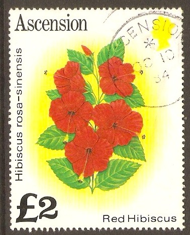 Ascension 1981 £2 Flowers Series. SG296A.