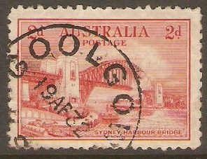 Australia 1932 2d Sydney Harbour Bridge Opening series. SG141.