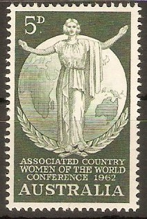 Australia 1962 5d Country Womens Conference. SG344.