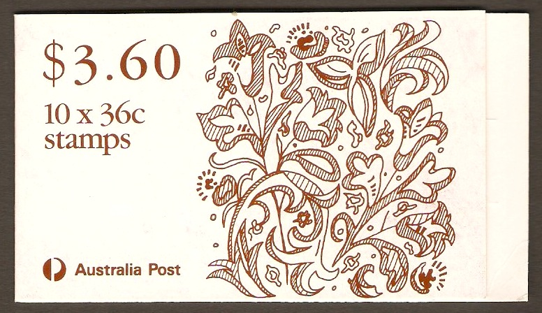 Australia 1989 36c Christmas Series Stamp Booklet.