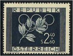 Austria 1952 Winter Olympic Games. SG1233.