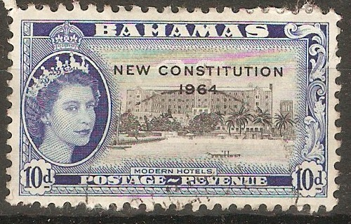 Bahamas 1964 10d New Constitution Series. SG237.
