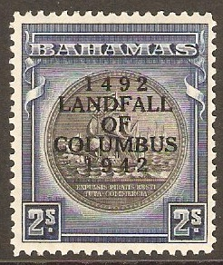 Bahamas 1931 2s Slate-purple and indigo. SG131a.