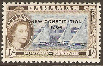 Bahamas 1964 1s New Constitution Series. SG238.