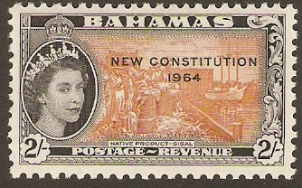 Bahamas 1964 2s New Constitution Series. SG239.