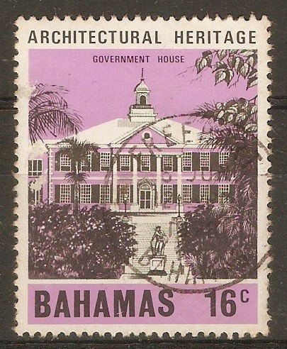 Bahamas 1978 16c Architectural Heritage series. SG512.