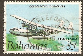 Bahamas 1983 35c Flight Anniversary Series. SG666.