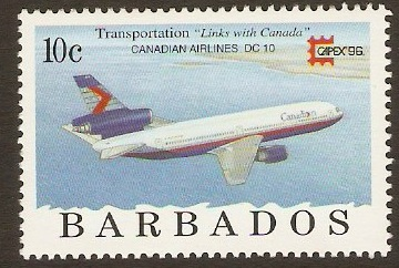 Barbados 1996 10c Stamp Exhibition Series. SG1089.