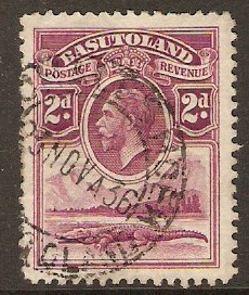 Basutoland 1933 2d Bright purple. SG3.