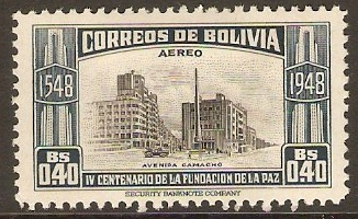Bolivia 1951 40c La Paz Foundation Series. SG523.